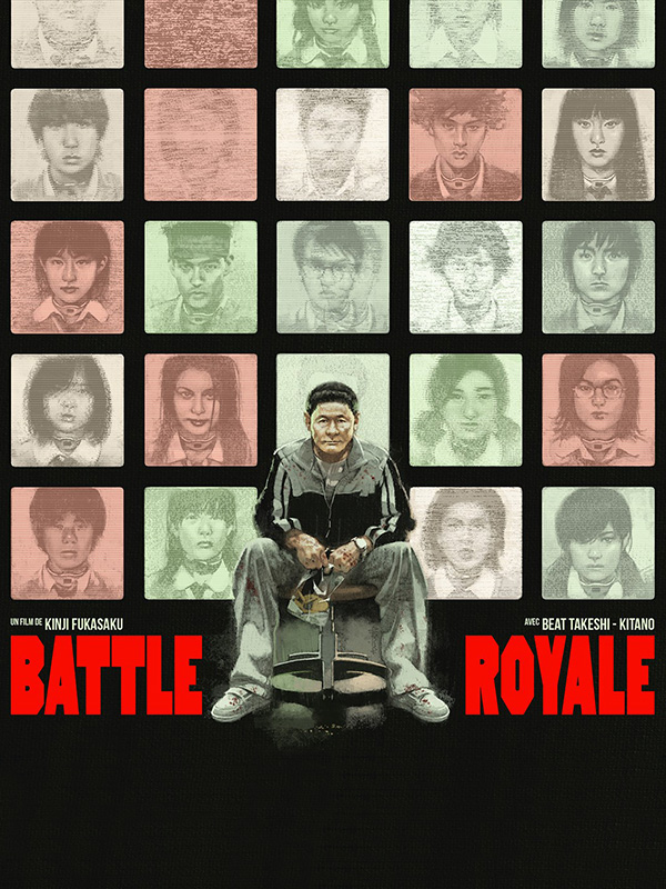 affiche Battle Royale (en 35MM)