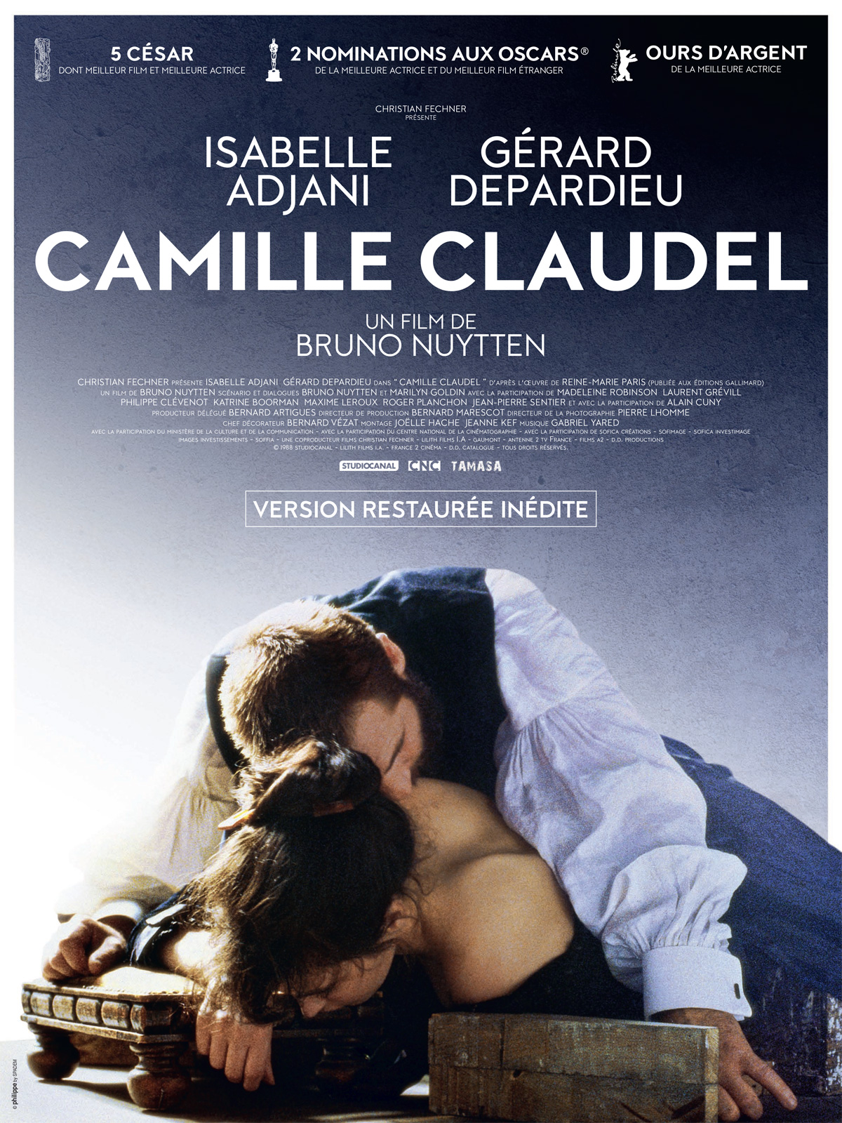 affiche Camille Claudel