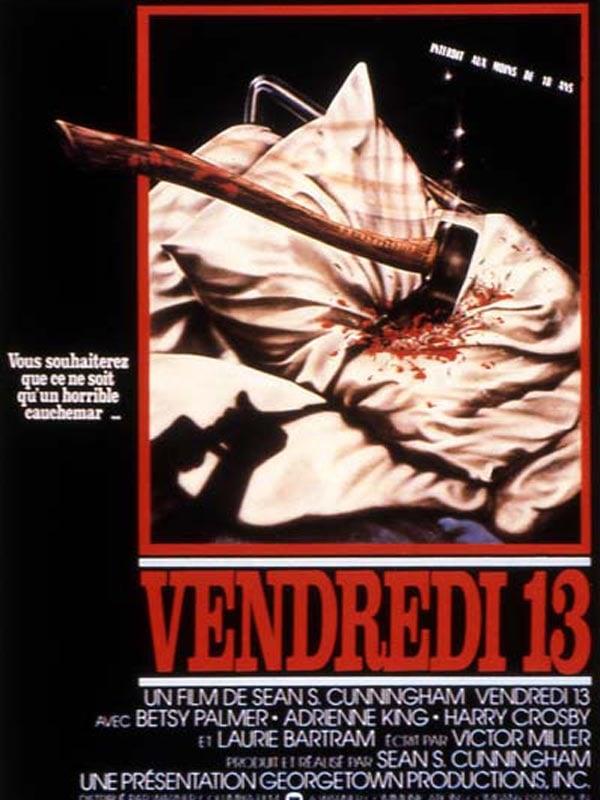 affiche Vendredi 13  (en 35MM)