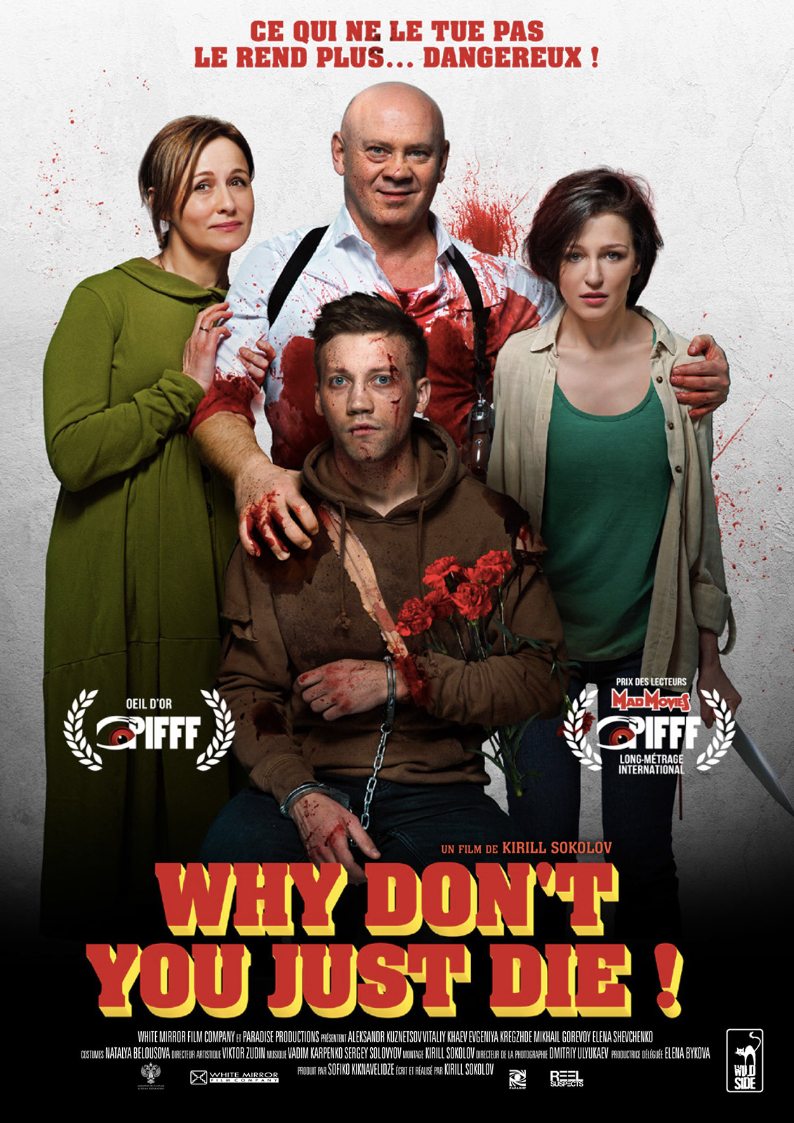 affiche Why Don't You Just Die !