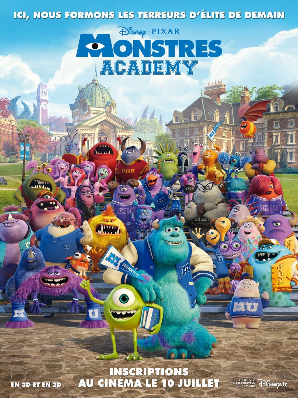 Monstres Academy 2013 TRUEFRENCH BRRip