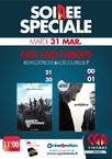 SOIREE FAST AND FURIOUS