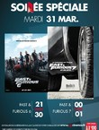 SOIREE FAST AND FURIOUS 6-7