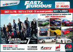SOIREE FAST AND FURIOUS 5 + 6 + 7