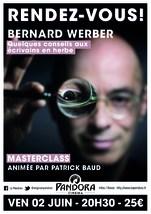 MASTERCLASS BERNARD WERBER
