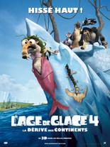 L'AGE DE GLACE 4 EN 3D : LA DERIVE DES CONTINENTS