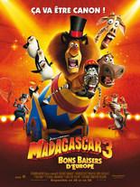 MADAGASCAR 3 : BONS BAISERS D'EUROPE EN 3D