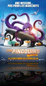 LES PINGOUINS DE MADAGASCAR EN 3D