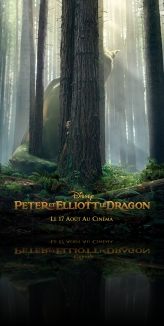 Peter et Elliott le dragon en 3D
