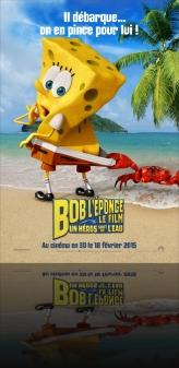 BOB L'EPONGE - LE FILM : UN HEROS SORT DE L'EAU EN 3D