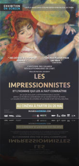 EXPOSITIONS AU CINEMA - LES IMPRESSIONNISTES