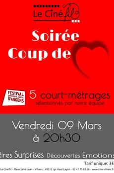 soirée coups d'coeur Festival Premiers Plans