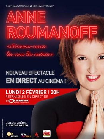 Anne Roumanoff: Aimons nous les uns les autres