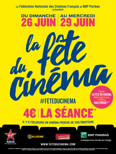 LA FETE DU CINEMA 2016