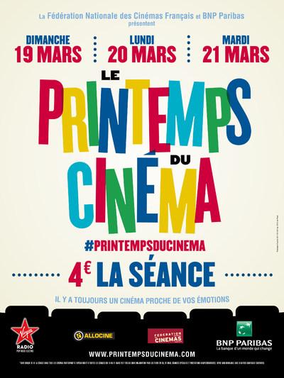 LE PRINTEMPS DU CINEMA 2017