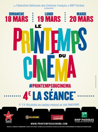 LE PRINTEMPS DU CINEMA 2018