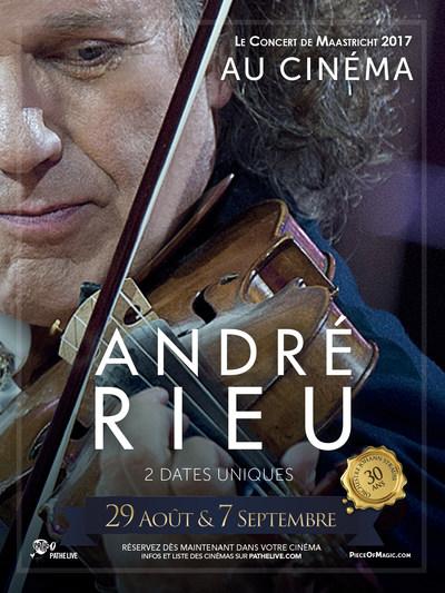 ANDRE RIEU – LE CONCERT DE MAASTRICHT AU CINEMA (Pathé Live)