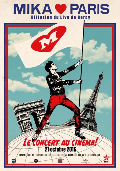 Concert Mika Love Paris (CGR Events)
