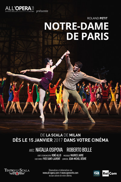 Notre-Dame de Paris de Roland Petit (CGR Events)