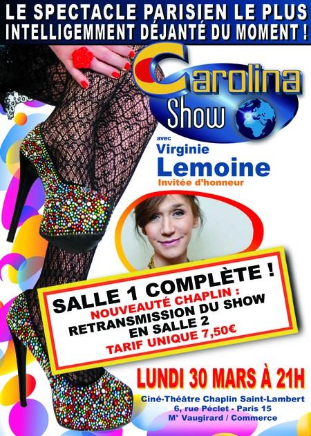 RETRANSMISSION DU CAROLINA SHOW EN SALLE 2
