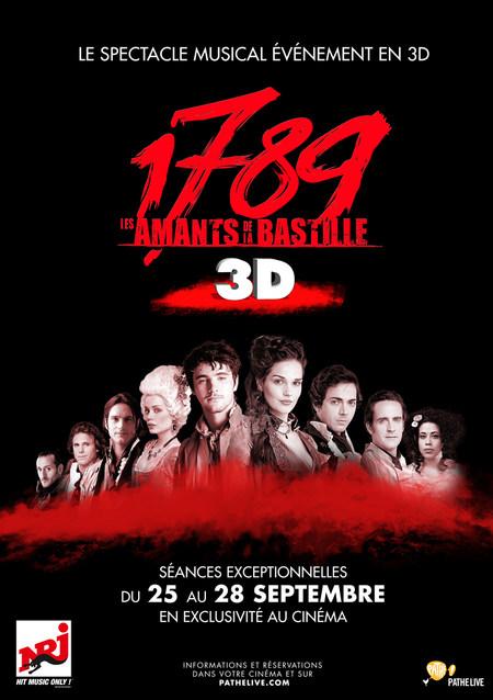 1789 : LES AMANTS DE LA BASTILLE EN 3D