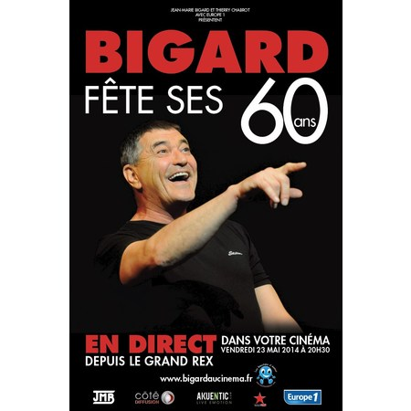 Jean Marie Bigard - Fête ses 60 ans FRENCH TVRIP 2014