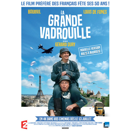 La grande vadrouille 2016 au cin ma coulommiers for Cinema coulommiers horaires