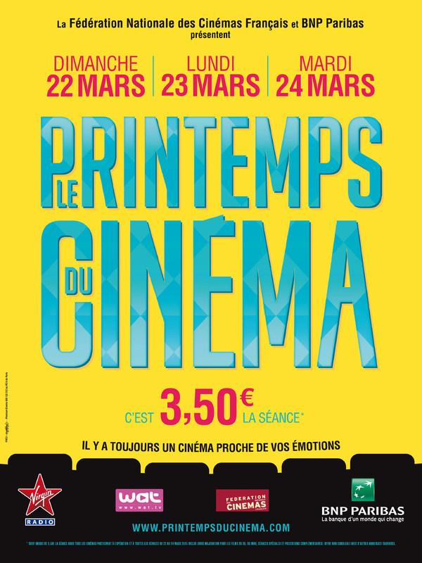 LE PRINTEMPS DU CINEMA 2015