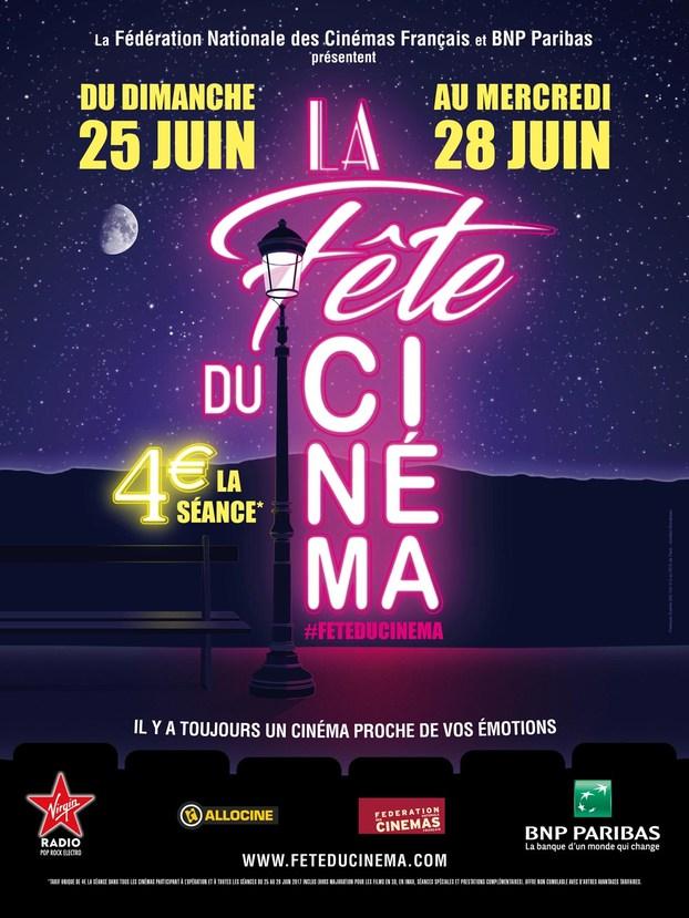La Fête du Cinéma 2017