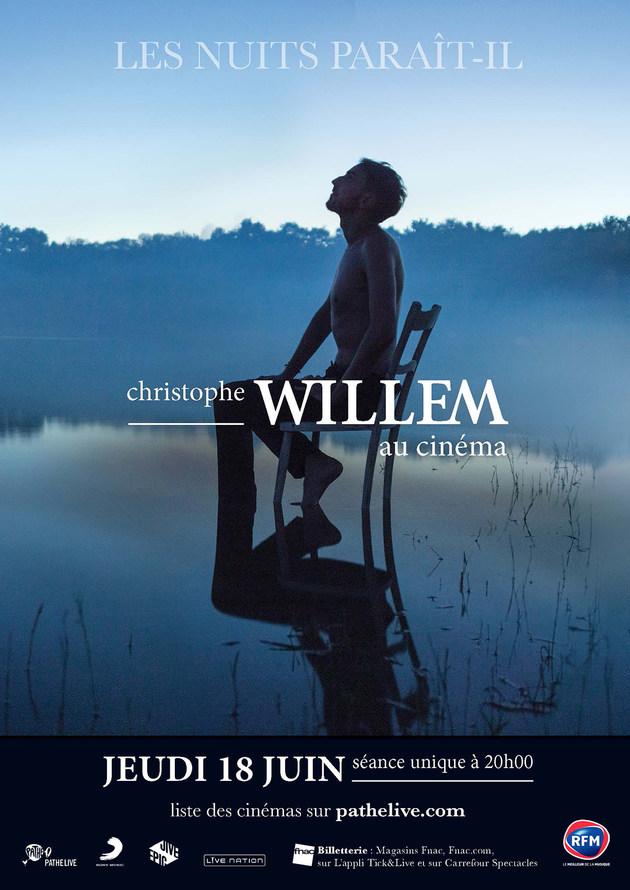 CHRISTOPHE WILLEM : LES NUITS PARAIT-IL
