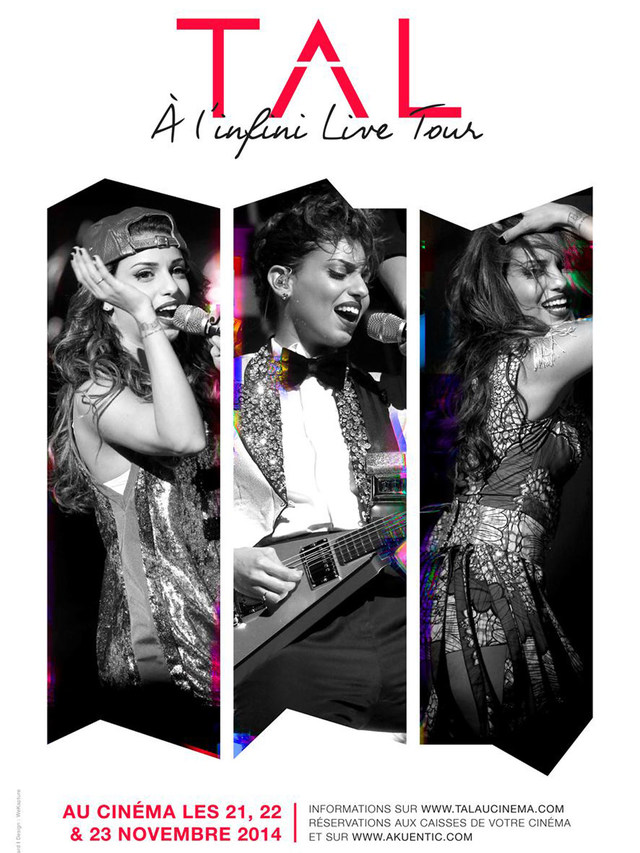 CONCERT TAL - A L'INFINI LIVE TOUR