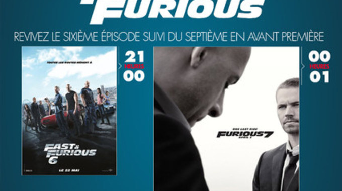 SOIREE FAST AND FURIOUS 6 et 7