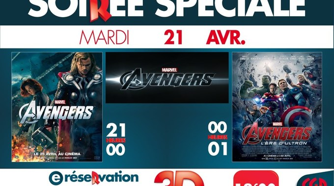 Soir�e Avengers