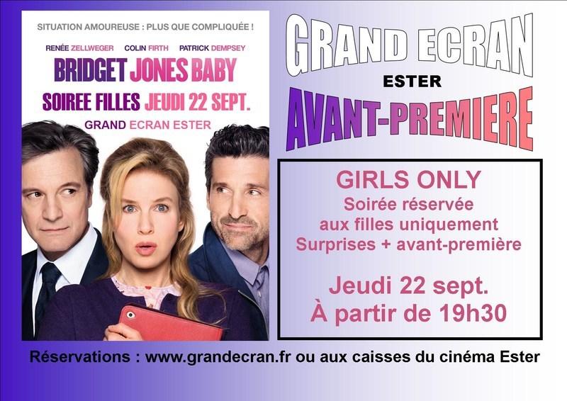 Soiree filles bridget jones baby au cin ma limoges ester grand ecran - Cinema grand ecran limoges ...