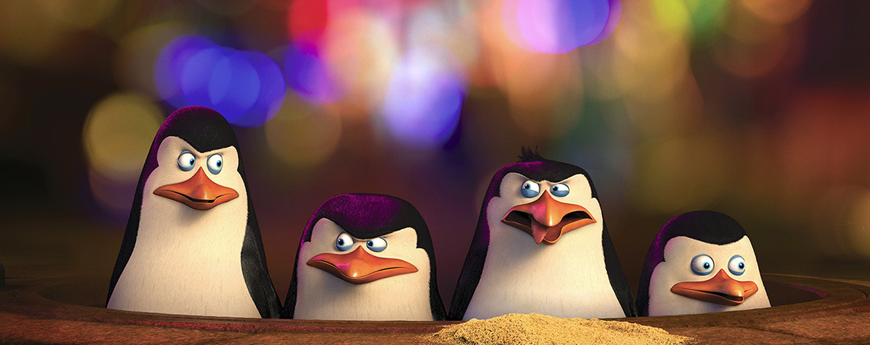 Photo SLIDE pour LES PINGOUINS DE MADAGASCAR EN 3D