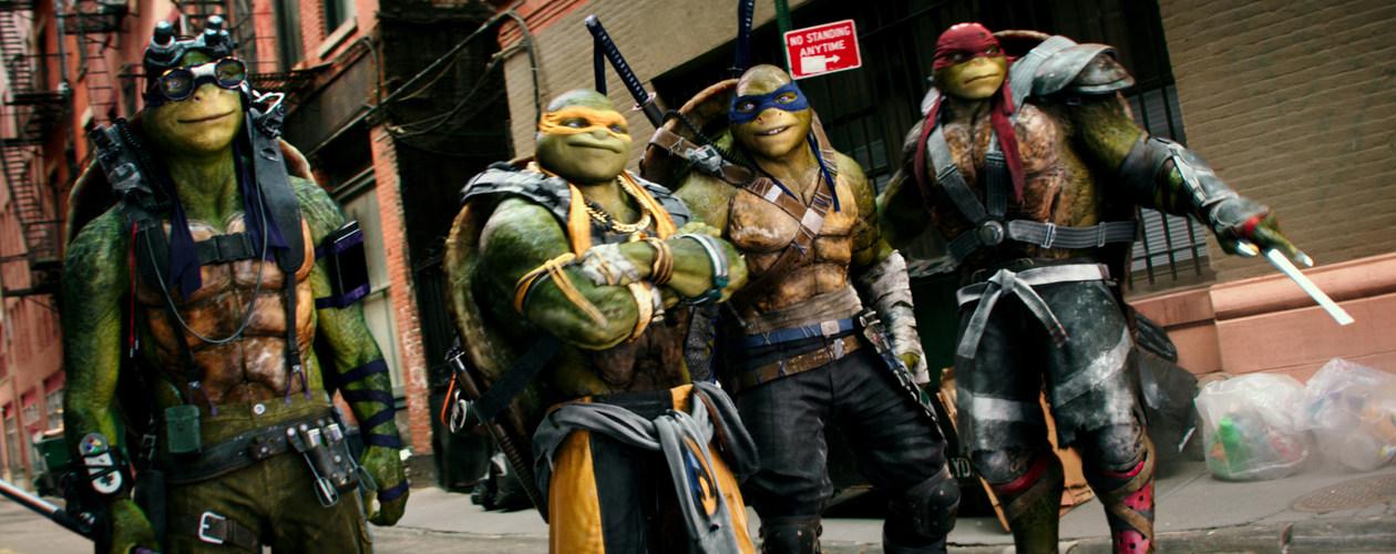 Photo du film Ninja Turtles 2 en 3D