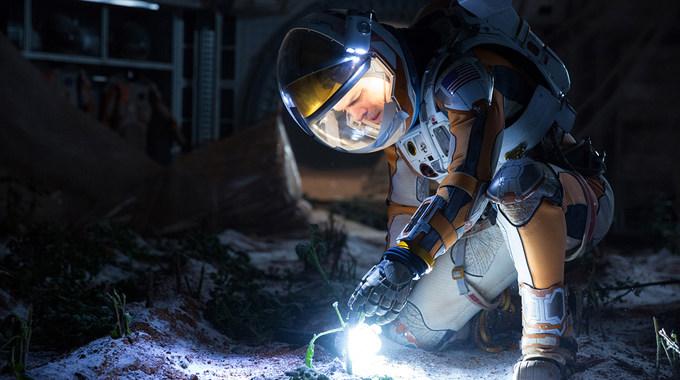 Photo SLIDE pour SEUL SUR MARS
