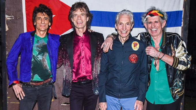 Photo 1 pour The Rolling Stones in Cuba - Havana Moon