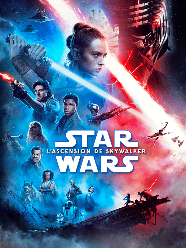 affiche Star Wars: L'Ascension de Skywalker