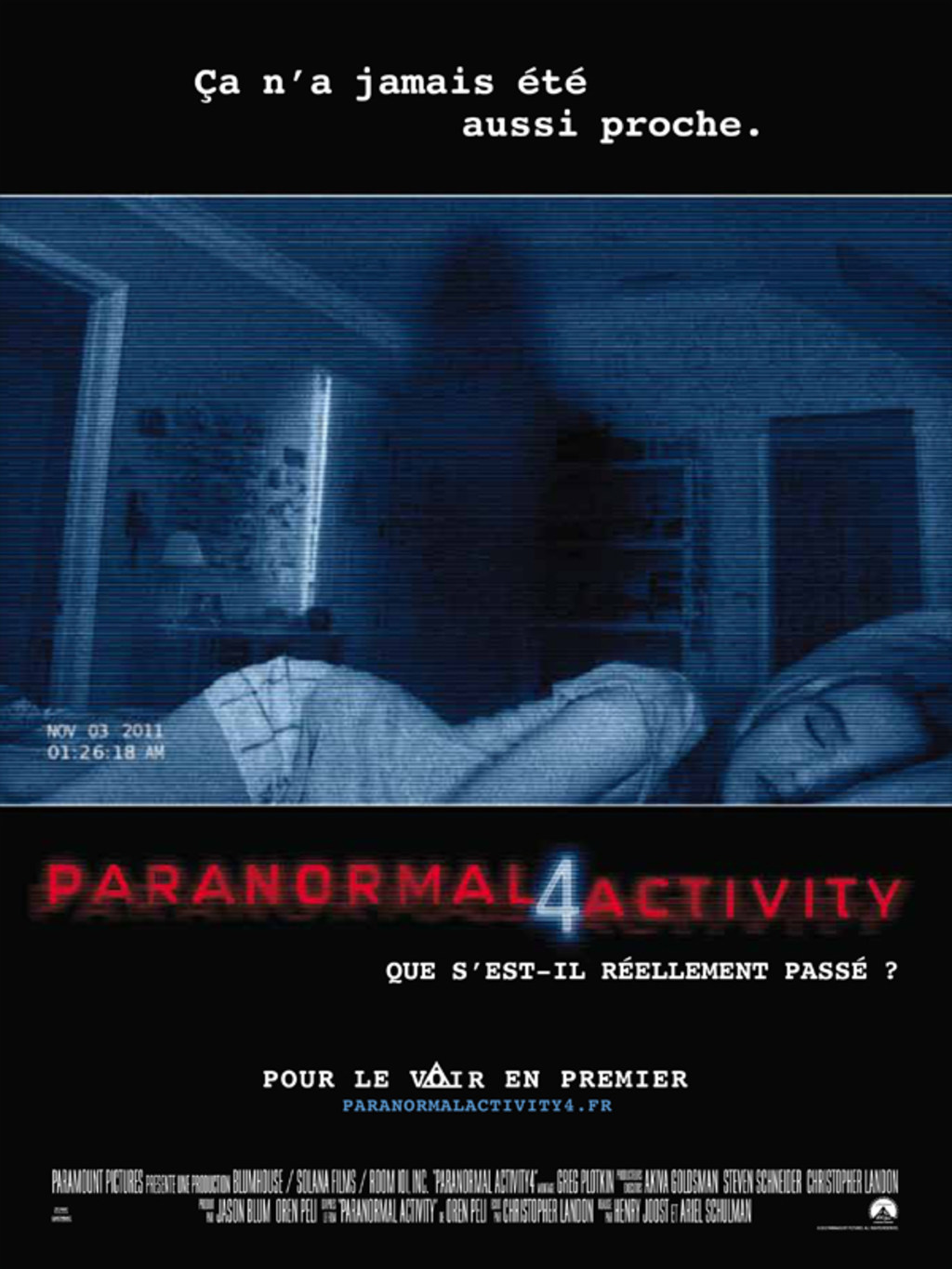 Paranormal Activity 4 | Multi | DVD-R