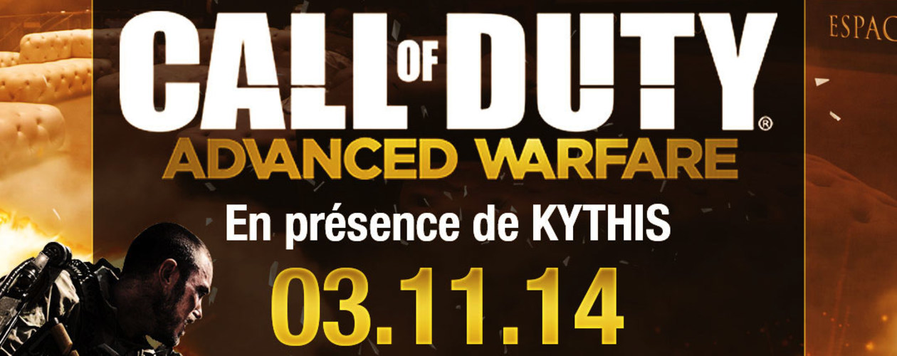 EVENEMENT CALL OF DUTY ADVANCED WARFARE