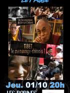 TIBET: LE MENSONGE CHINOIS