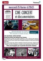 CINE-CONCERT et documentaires