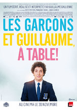 LES GARCONS ET GUILLAUME, A TABLE !