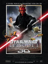 STAR WARS EPISODE 1 : LA MENACE FANTOME EN 3D