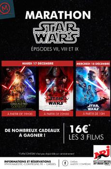 MARATHON STAR WARS 3 FILMS