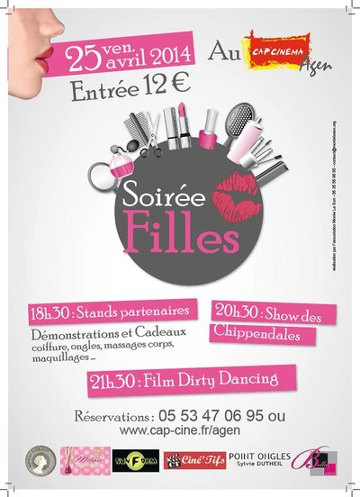 SOIREE FILLES 25.04.14 / DIRTY DANCING