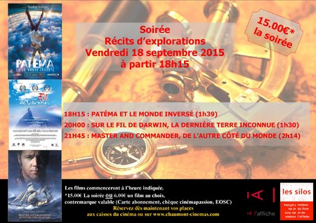 SOIREE RECITS D'EXPLORATIONS