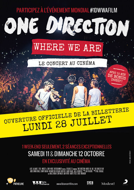 ONE DIRECTION : « Where We Are »