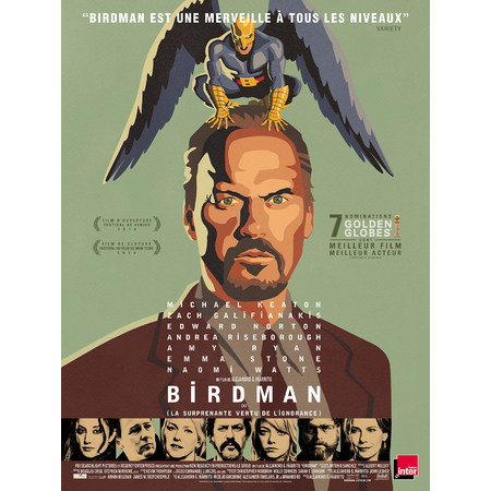 birdman 2015 au cin ma vichy toile palace. Black Bedroom Furniture Sets. Home Design Ideas